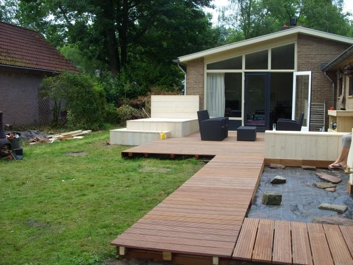 Project lounge-tuin : Zielhuis Klusservice
